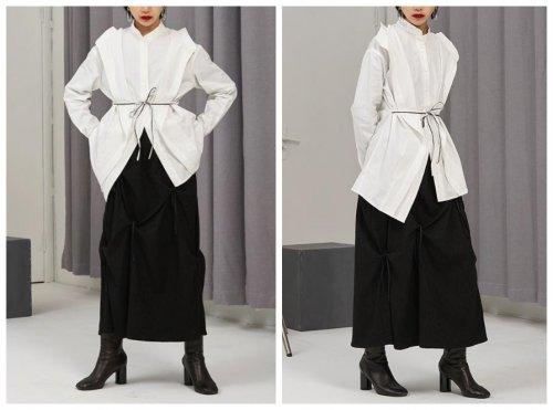 设计感极强的小众白衬衫