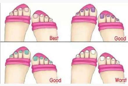 凉鞋与脚部美甲颜色的搭配技巧