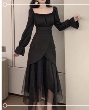 什么款式的纱裙显瘦?胖人穿这三款非常合适好看!