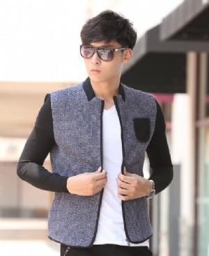 时尚男士夹克薄外套服装图片