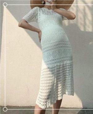 孕妇夏天穿什么连衣裙好看?第一款穿起来美爆了!