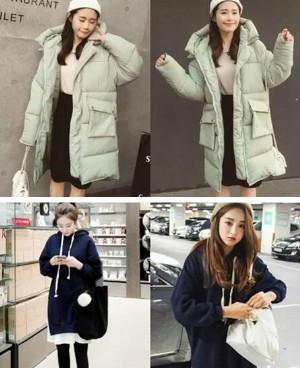 适合8个月孕妇穿的韩版孕妇装 冬天让你穿得舒适!