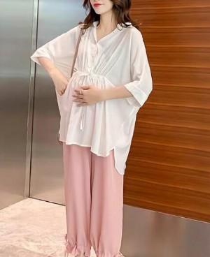 适合孕妇穿的秋款时尚套装 原来孕妇也可以这么潮这么美!