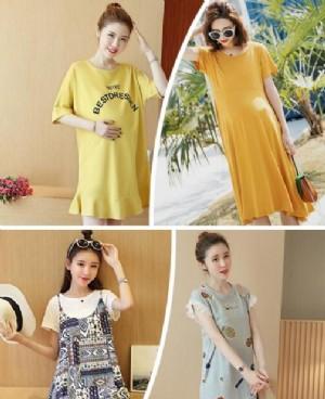 夏季新款纯棉孕妇装 这些款穿着好看又舒适