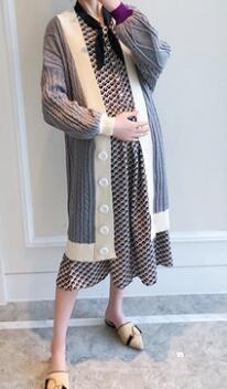 韩版孕妇装春秋装外套 孕期也要美美哒