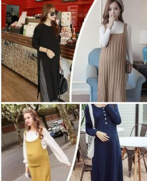 冬季新款韩版孕妇装 孕期也要穿得美丽