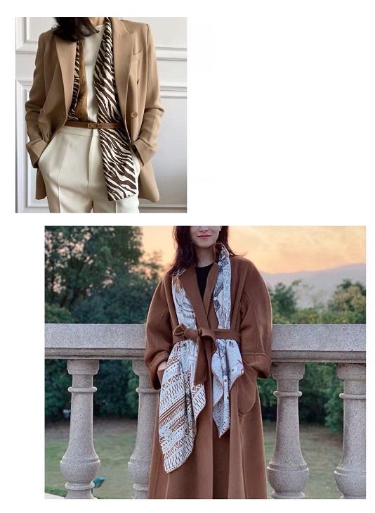 长丝巾怎么围好看 长丝巾这样围既优雅又简单