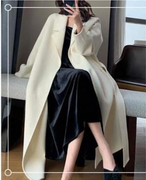 白色长外套怎么搭配?照着这样穿时尚又有范儿
