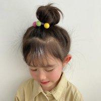 第一款韩式温柔丸子头扎发 丸子头怎么扎简单好看