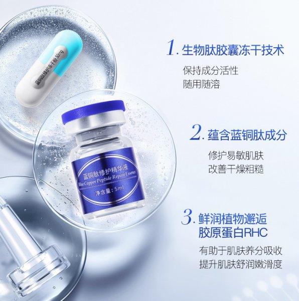 蓝铜肽的作用功效