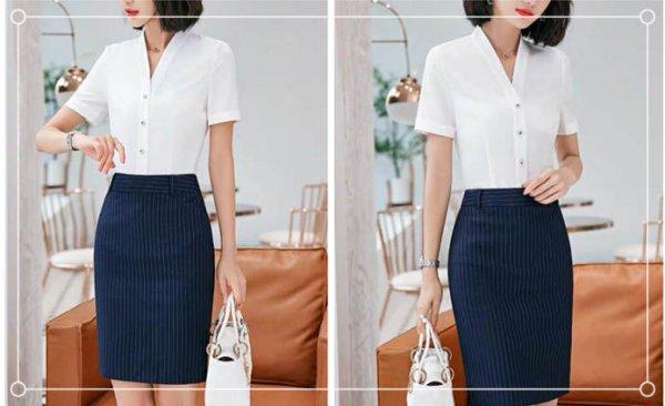 中年女性穿衬衫怎么搭配?❓❓