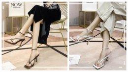 什么款式的高跟凉鞋最好看?这里随便一双都美得不要不要的!