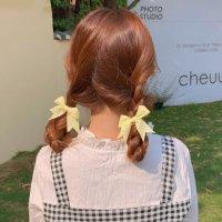 扎发的种类 夏季发型女中长发扎法
