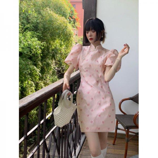 穿旗袍怎么扎头发