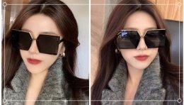 脸大戴什么墨镜好看?戴这些墨镜很显脸小!