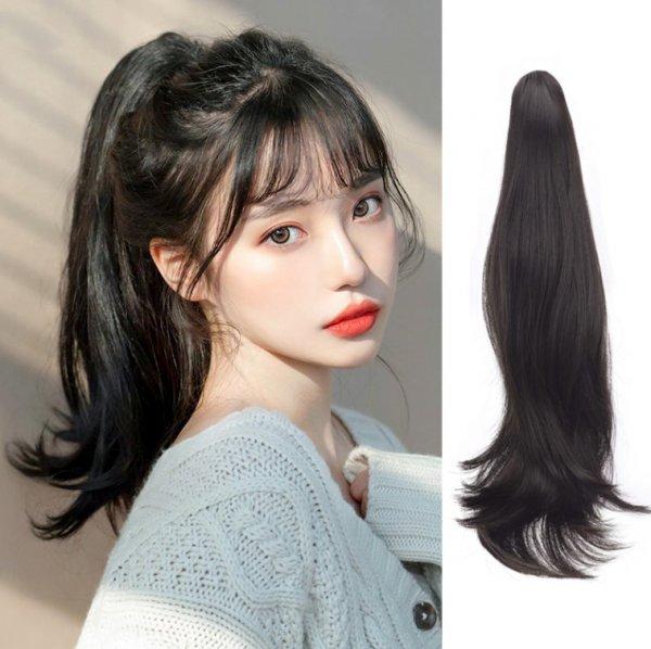 发量多发质硬适合发型