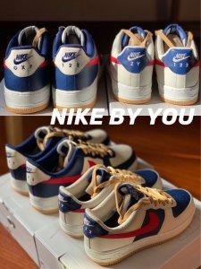 新年礼物定制Nike情侣鞋Air Force1
