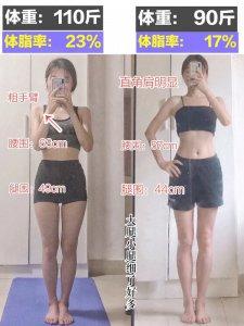 110斤-90斤‼一周高效减脂运动 塑型瘦全身