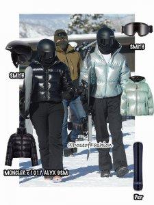 2020明星滑雪穿搭(上)