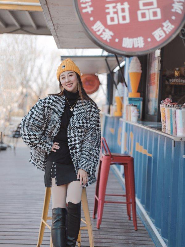 OOTD | 秋冬配饰搭配| skp逛街指南+探店