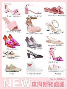 2021早春新款女鞋SW、RV、麦昆、迪奥等