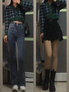 OOTD显腿长穿搭分享!显高显瘦这么穿