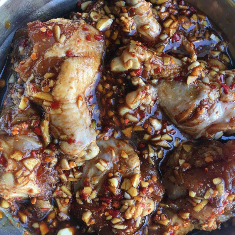 「蒜香鸡腿」空气炸锅版健康低脂,巨好吃