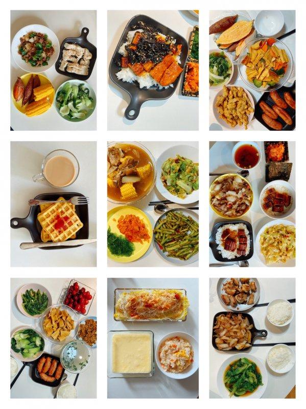 日常饮食合集健身博主到底多「自律」
