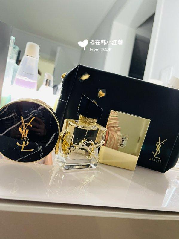圣罗兰自由香水 圣罗兰新款大理石气垫 分享