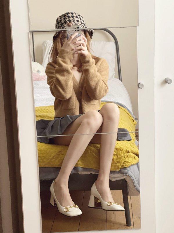 Gucci 2021新款高跟鞋,又甜又优雅的小可爱