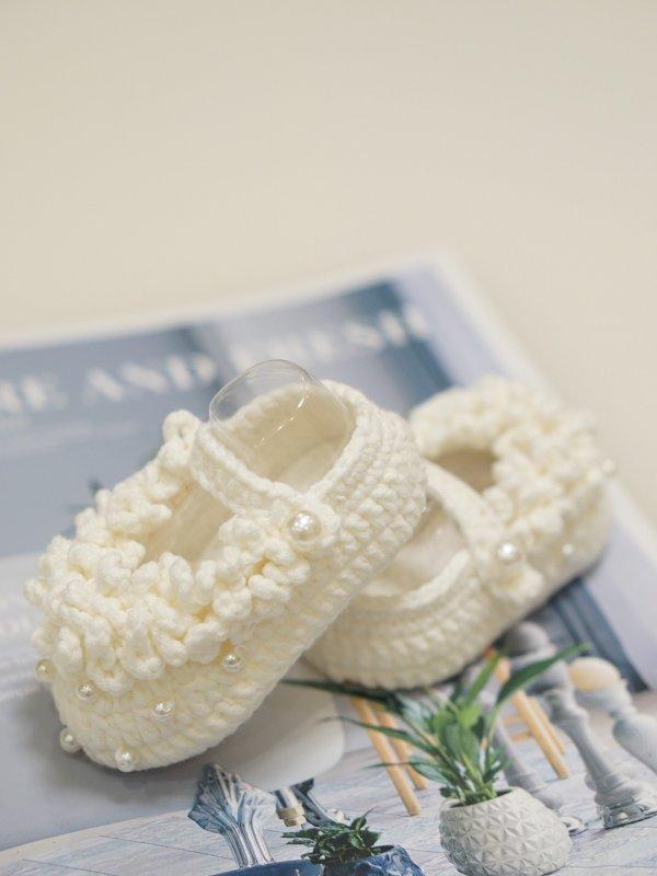 原创2021春季新款宝宝鞋钩针文字图解
