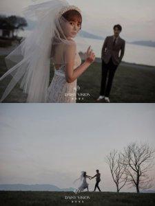 电影感婚纱照将婚纱照拍成了电影大片