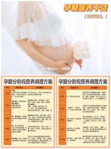 孕期营养干货孕十月营养如何补充
