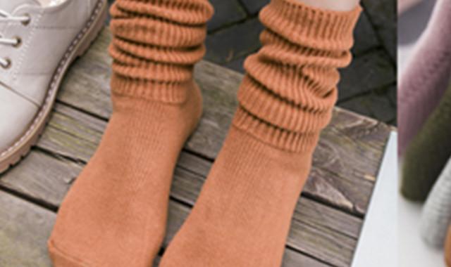 堆堆袜怎么搭配裤子 看完你会恍然大悟