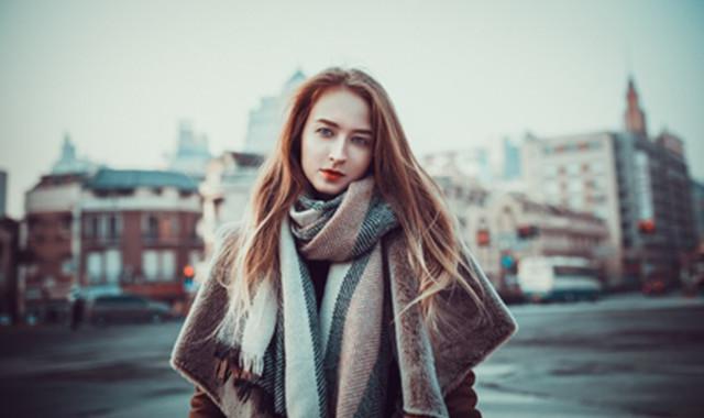 薄长围巾的围法 让你做冬天超好看的那一个