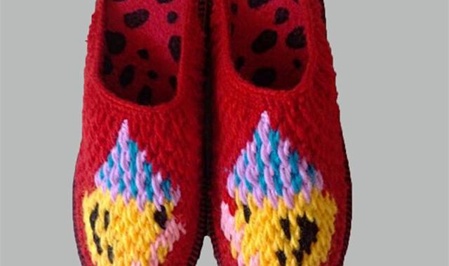 毛线拖鞋怎么编织 详细过程看这里