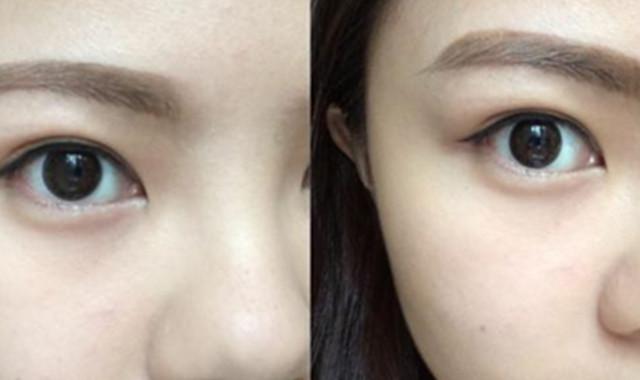 韩国眉毛一字眉图片 既简单又好学的眉形