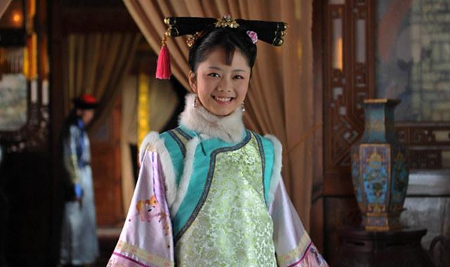 谭松韵甄嬛传剧照大全 让你看到她的可爱之处