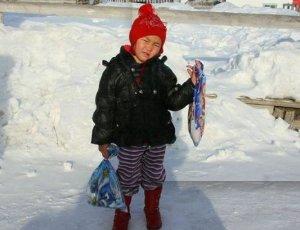 4岁幼童雪地徒步救祖母 零下34度独行6小时