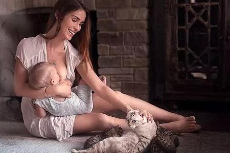 520世界哺乳日 哺乳期妈妈的乳房最完美