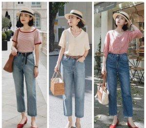 70后女人穿搭夏装 牛仔裤怎么搭才好看