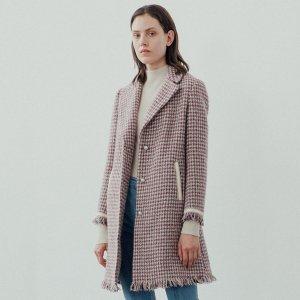 2019年的时髦穿搭 双面呢大衣+九分牛仔裤更显气质