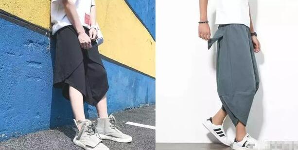 阔脚裤子是生活中很常见裤种 男生阔腿裤怎么搭配技巧