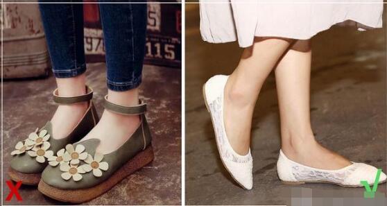 有品位有气质的女生 穿鞋子注意什么问题 什么鞋子穿着俗气