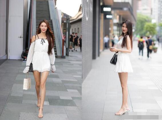 谈论到这个话题 白色衣服怎么穿好看?