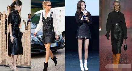 皮裙材质本就与人体皮肤质感很协调 皮裙怎么搭配衣服鞋子?