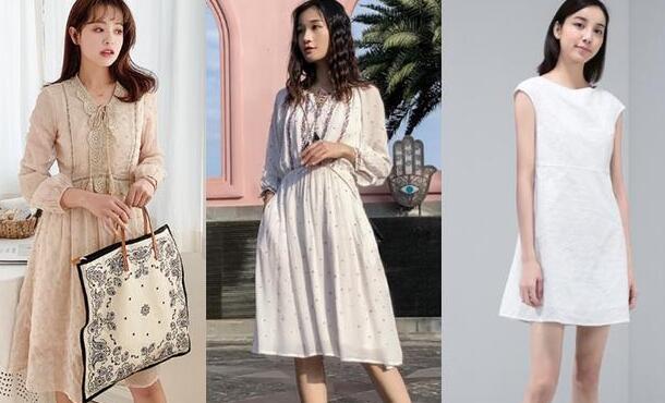 夏天是衣服种类最多 经典款式连衣裙图片