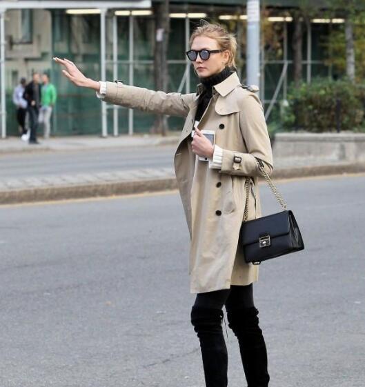 冬天到了小仙女有心仪的过冬装备吗?没有的话 高领毛衣搭配什么外套?