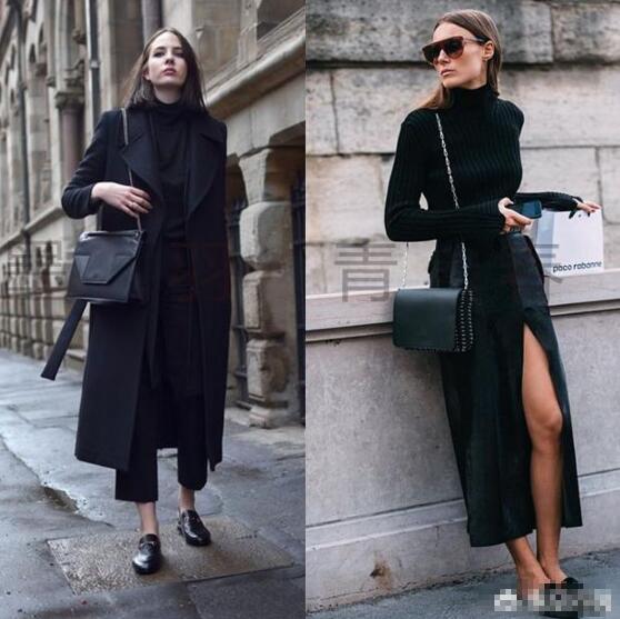 黑色衣服 黑色衣服配什么颜色裤子和鞋子?