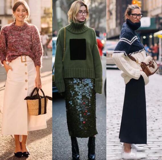 其实我觉得秋冬季节是很适合穿裙子的 秋季裙子怎么搭配好看?
